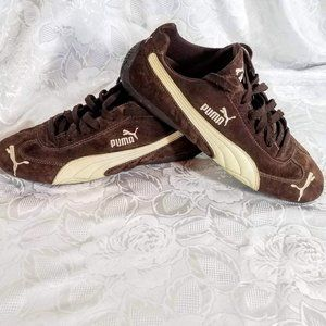 Puma brown suede women's sneakers Us size 11